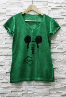 Exclusive T-Shirt 'CRIMINAL MICKEY'  (Women)